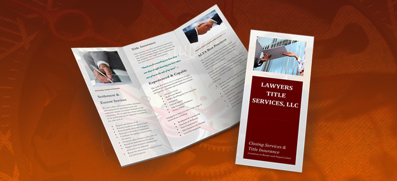 Lawyers Title Services Brochure  Lawyers Title Services Llc